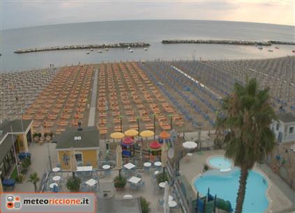 Meteo riccione previsioni webcam da hotel e spiagge - Web cam riccione bagno 93 ...
