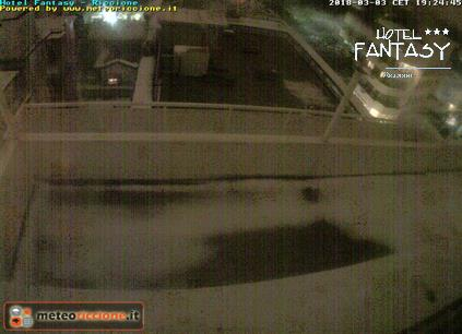 Riccione webcam - Hotel Fantasy webcam, Emilia-Romagna, Rimini