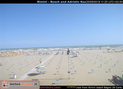 Meteo Riccione Previsioni Webcam Da Hotel E Spiagge