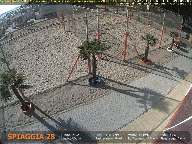 "Webcam 3   <a class=""as-btn-blue-medium"" style=""color:white"" href=""https://www.riccionespiaggia28.it/streaming/cam2.php"" target=""_blank"">Clicca qui per lo Streaming</a>"